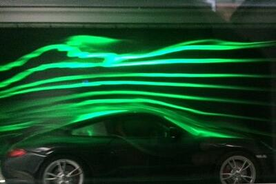 Flow Visualisation in Automotive Sector
